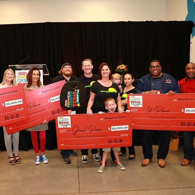Congrats to the winners of the 5th Annual #HEBquest for Texas Best! We tagged them for you so give them a follow! #Austin & #Houston were well-represented this year! • • #fbf #FlashbackFriday #tbt #ThrowbackThursday #followforfollow #f4f #l4l #likeforlike