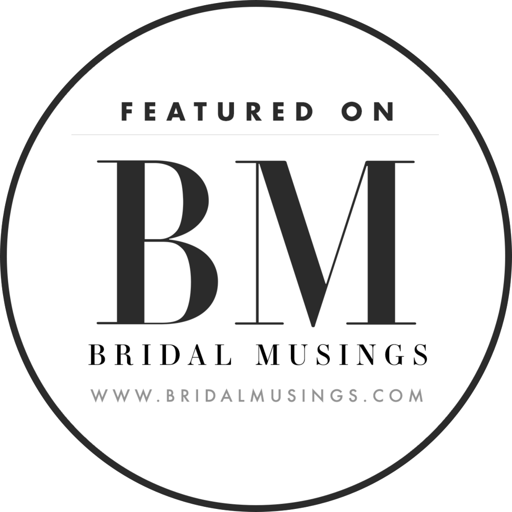 Featured on Bridal Musings UK