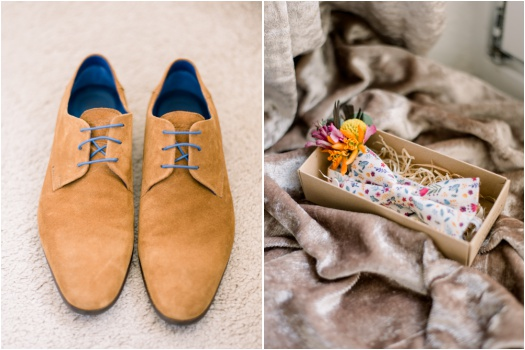 Groom's accessories for a wedding day