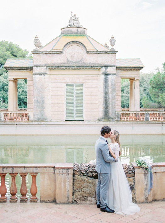 Wedding at Parc del Laberint d'Horta Barcelona Spain