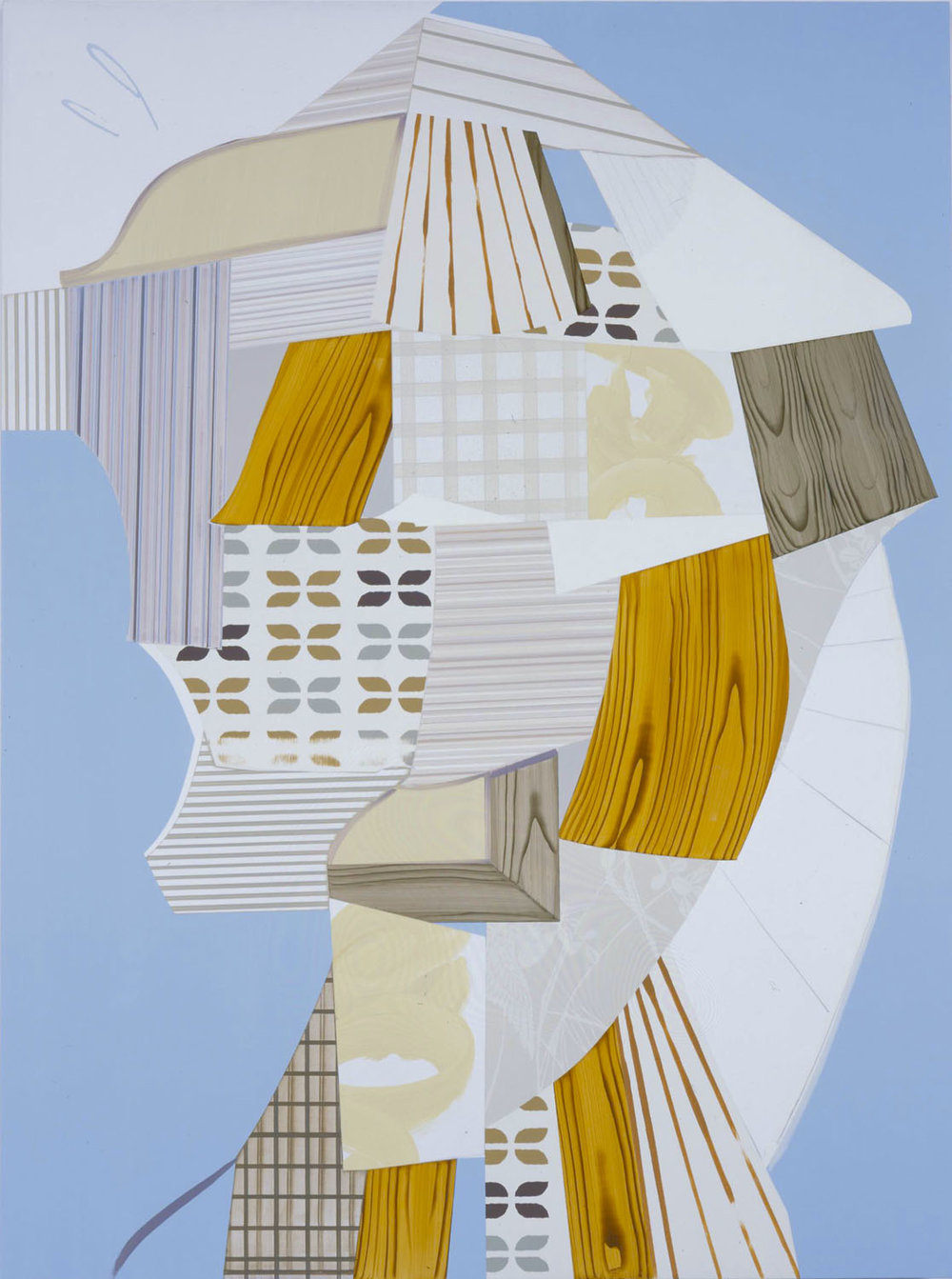 The Pioneer, 2007  Oil and acrylic on canvas over panel  43 x 35 inches  109.22 x 88.9 cm