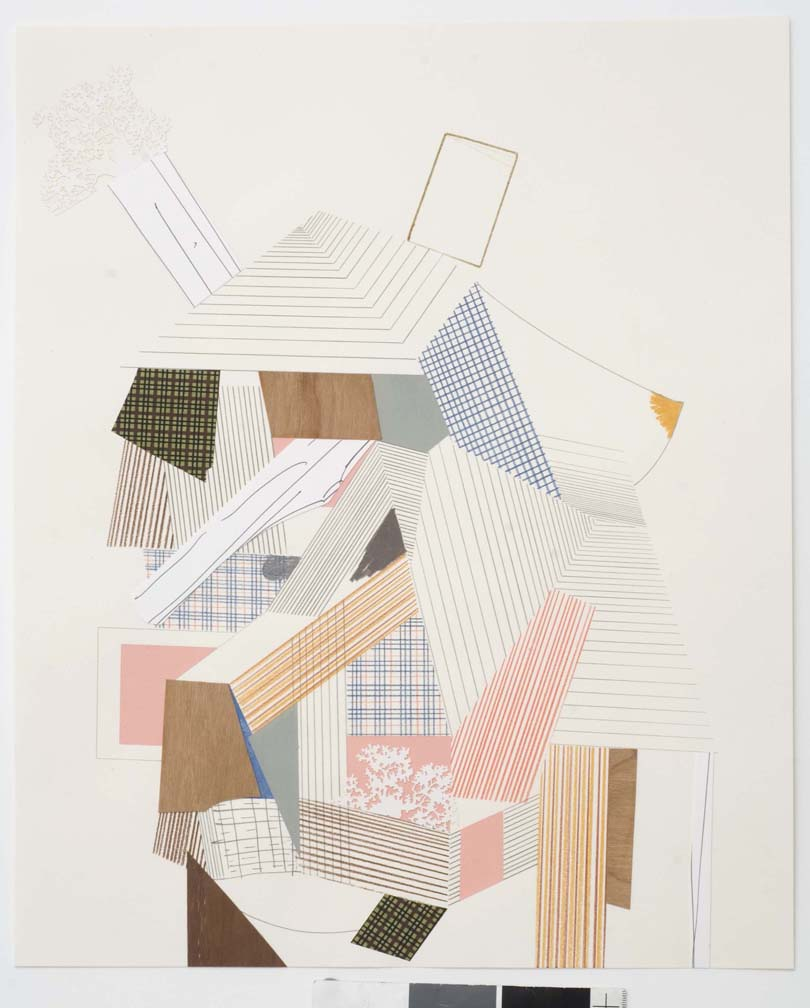 Untitled, 2007  Pencil, gouache and collage on paper  17 x 14 inches  43.18 x 35.56 cm