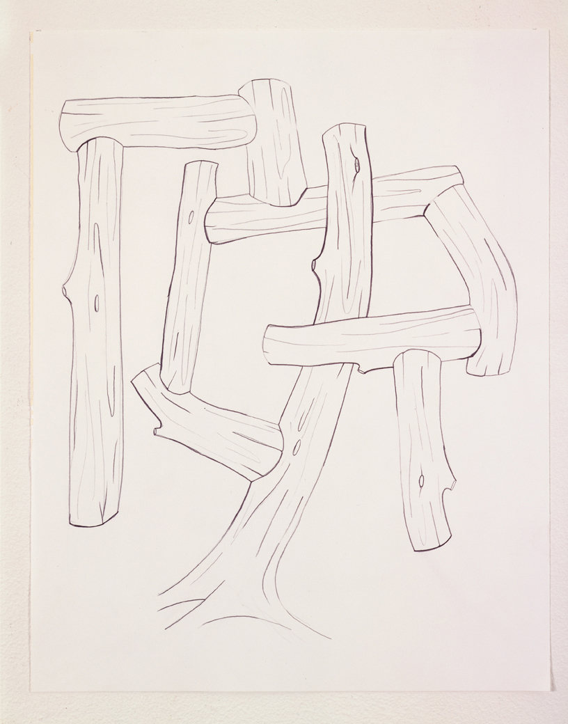 Untitled, 2003  Pencil on paper  14 x 11 inches  35.56 x 27.94 cm