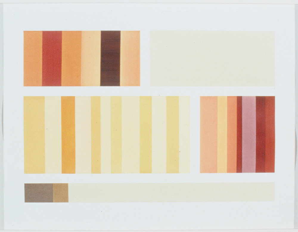 Bookshelf Study.Orange-Yellow(1999).jpg