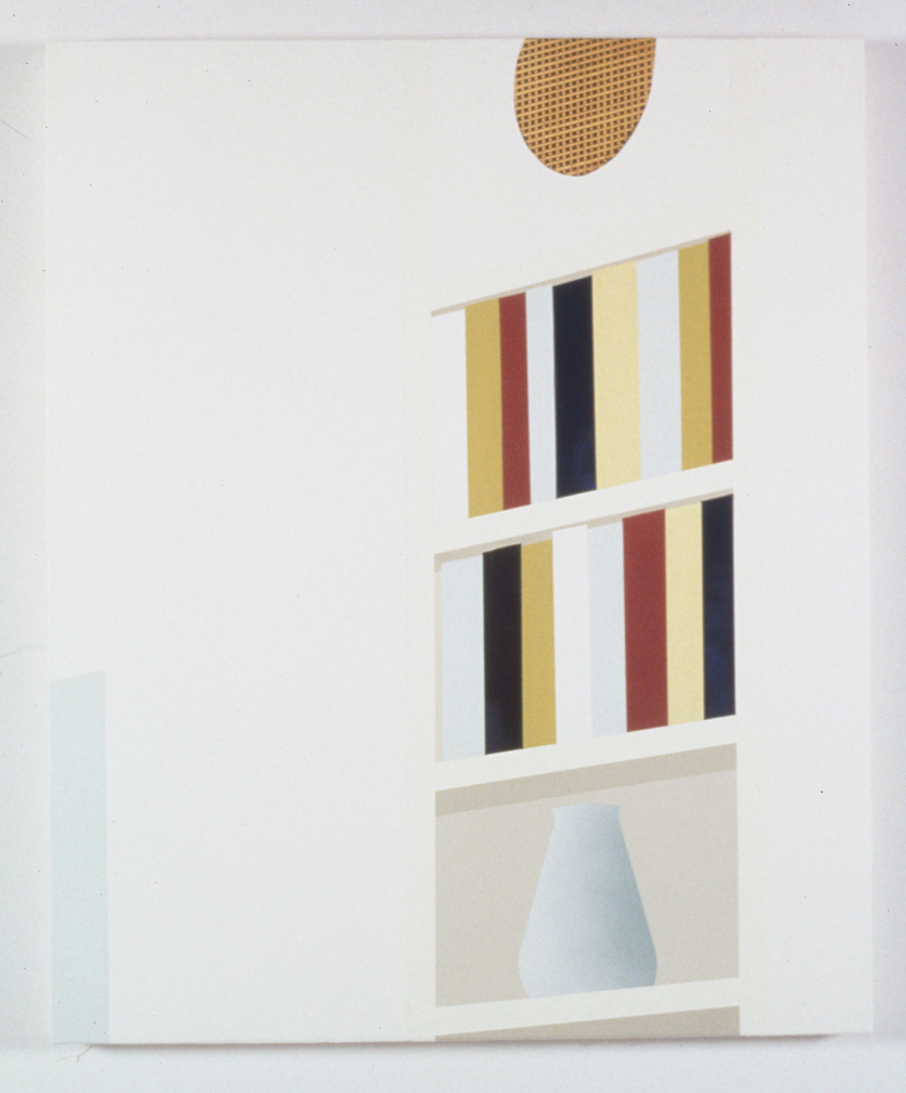 Custom Storage W/ Speaker, 1997  Oil and acrylic on canvas over panel  36 x 30 inches  91.44 x 76.2 cm