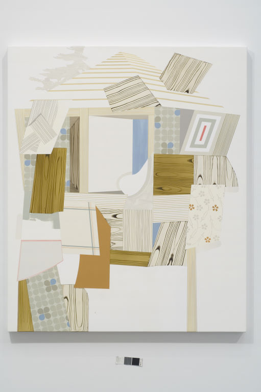 Shed, 2008  Oil and acrylic on canvas over panel  48 x 40 inches  121.92 x 101.6 cm