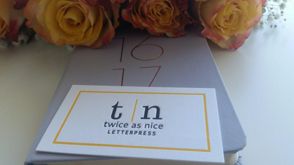 Twice As Nice Letterpress - Sydney, NSW | Online