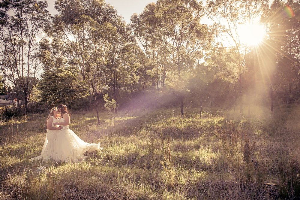 Australian Lesbian Wedding