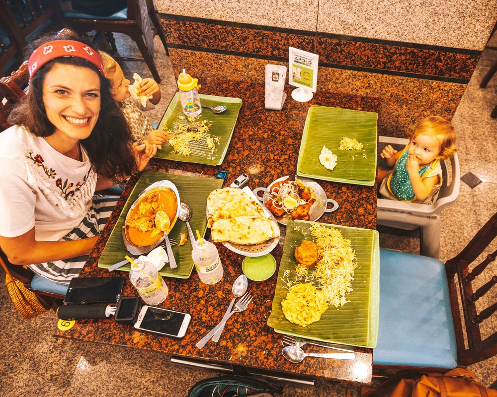 Al ristorante indiano