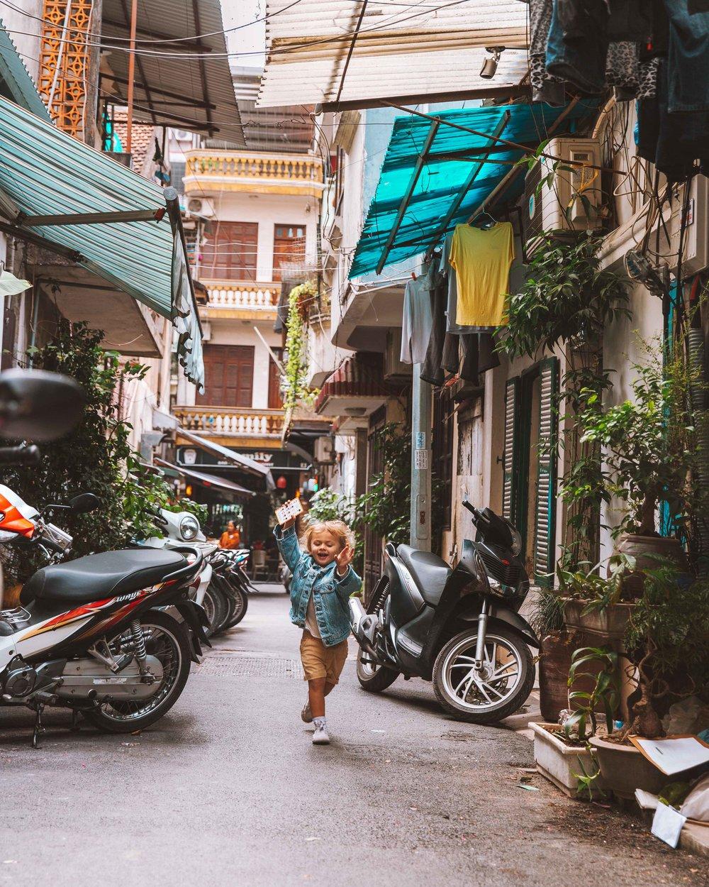 Questa è Hanoi!