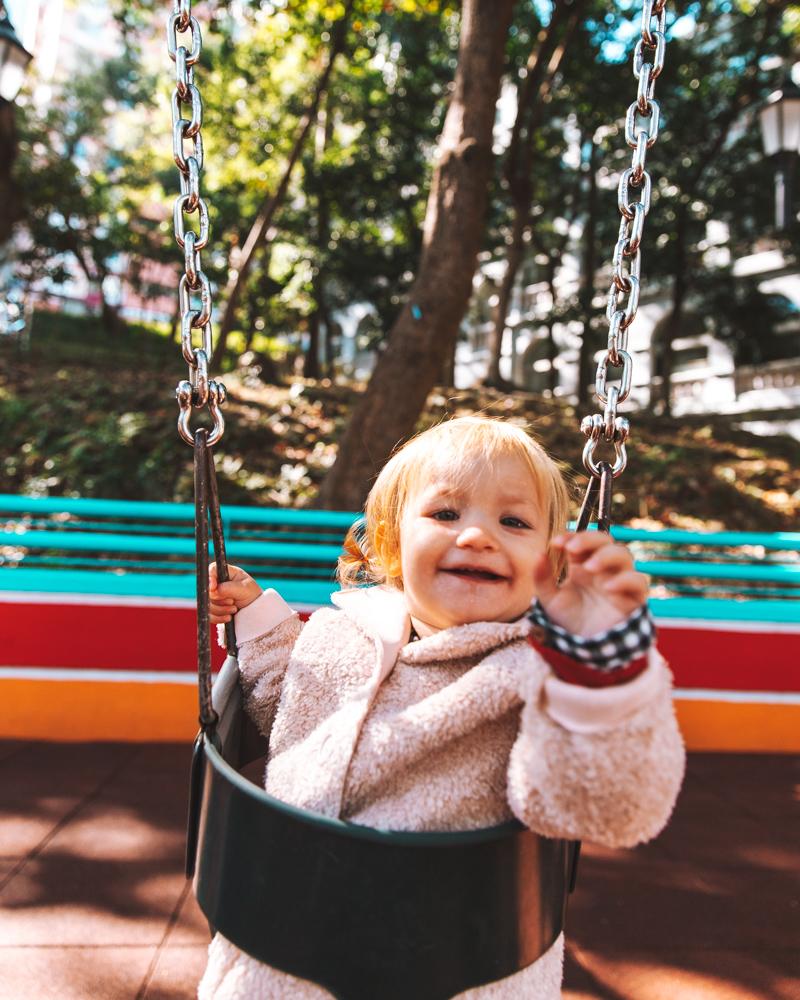Lietta at the Hong Kong Park