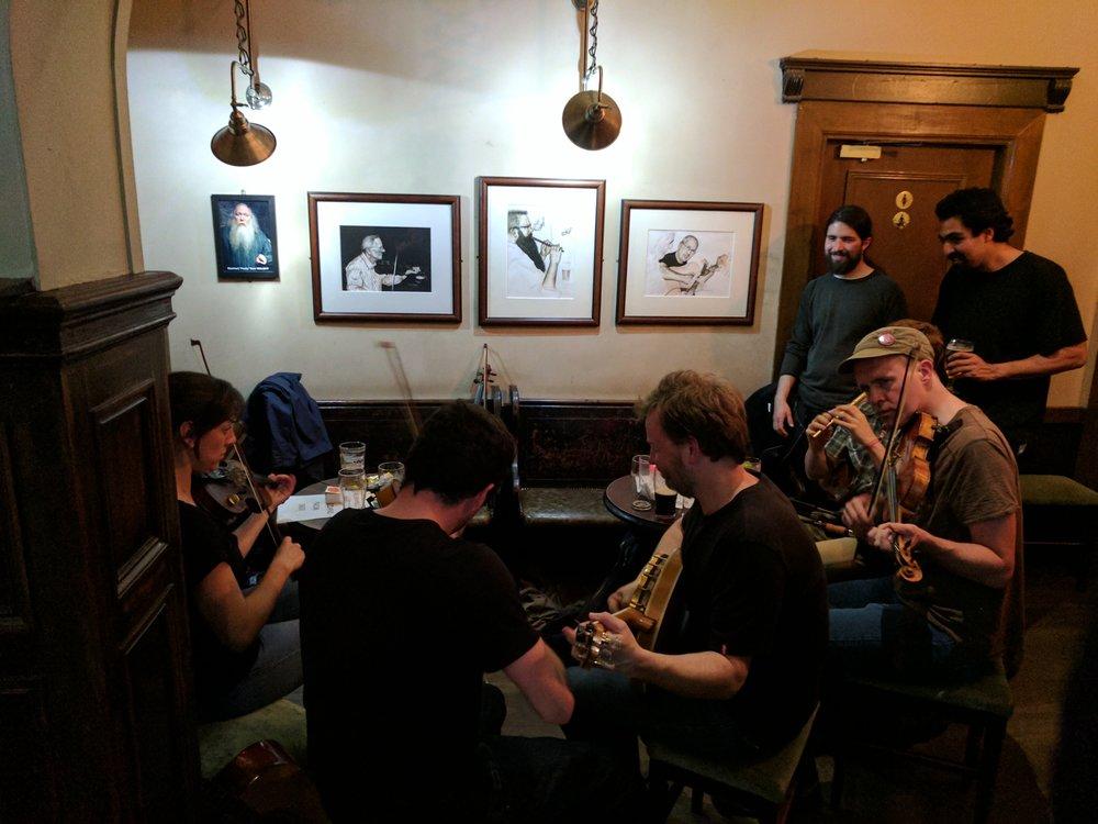 Local folk musicians.
