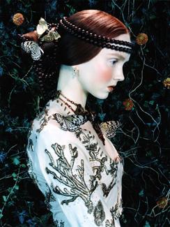 Lily Cole by Miles Aldridge, 2005 © Miles Aldridge