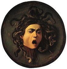 Medusa, Caravaggio (1595)