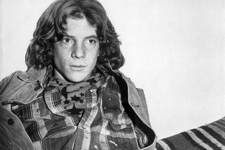 John Paul Getty III, 1974.