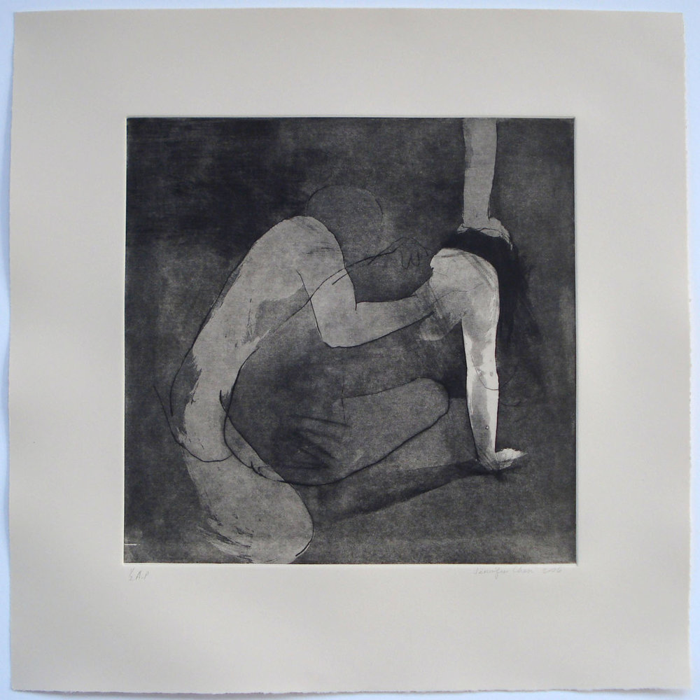 Untitled; 2006    Etching, 18 x 18 in