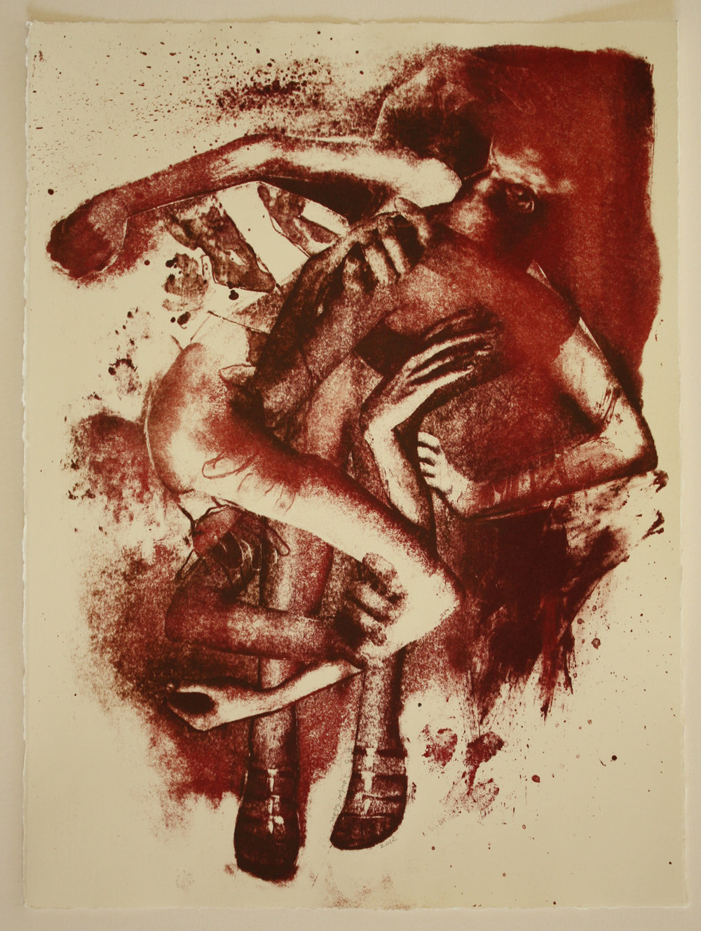 2012_ #13 Untitled (Collaged Parts) #13_ Reductive Stone Lithography_ 15x11_.JPG