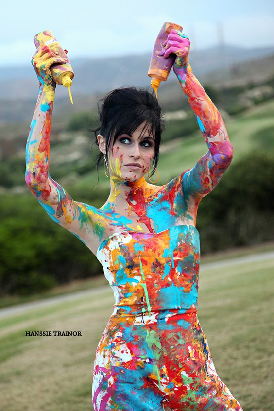 mariage pays basque trash the dress fun peinture.jpg