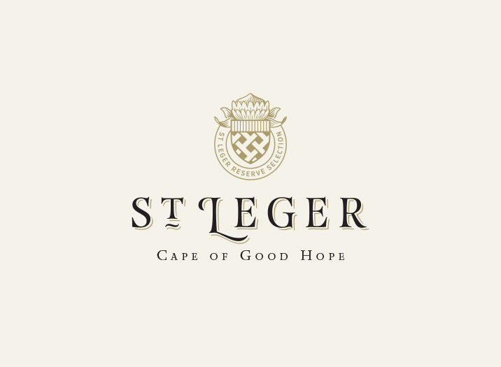 St Leger Wine Brand Design