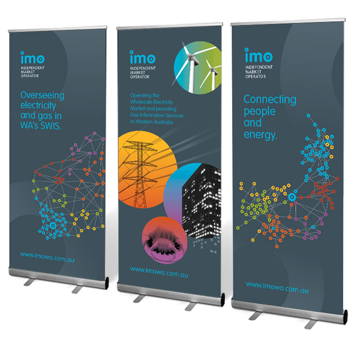 The IMO Corporate Banner Design
