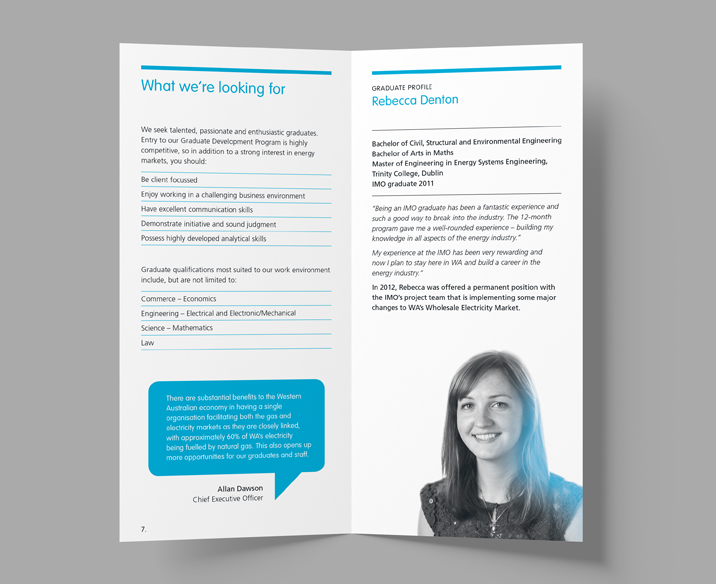 The IMO Corporate Brochure Design