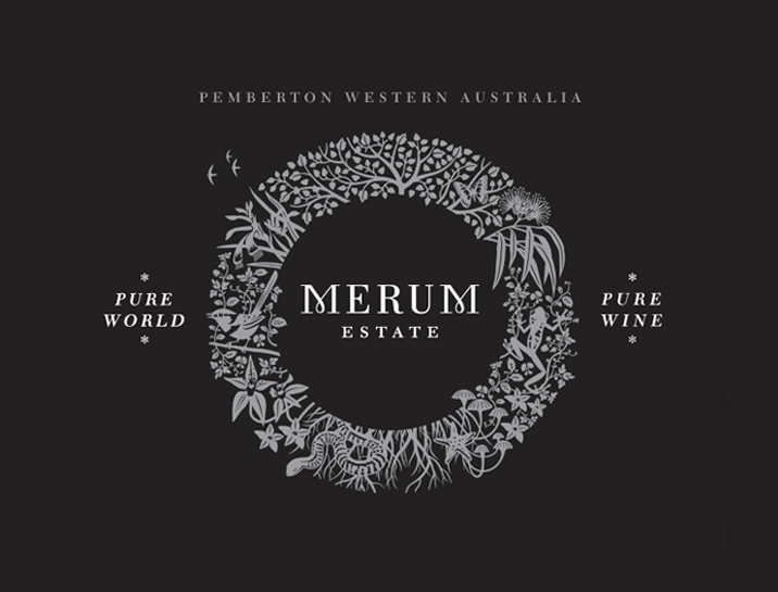 Merum Estate Wine Brand Design