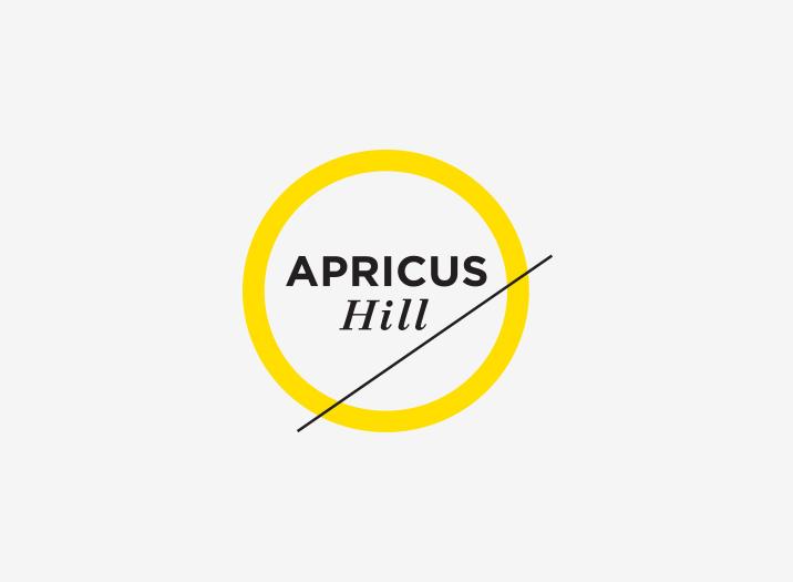 Apricus Hill Wine brand logo design