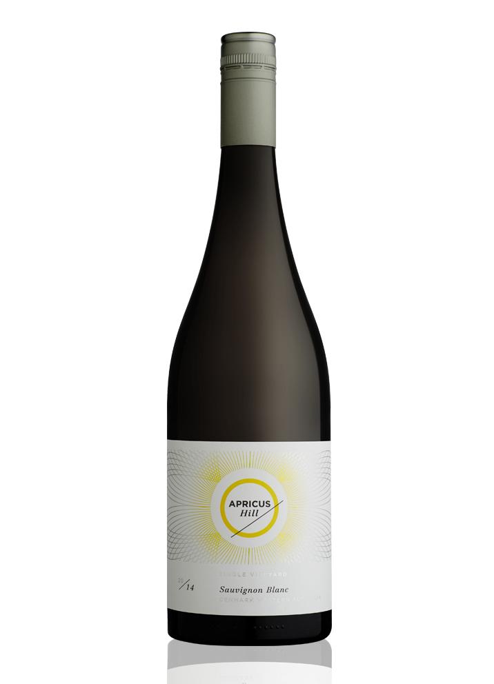 Apricus Hill Wine Label design
