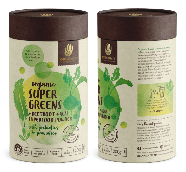 Orgamix Organic Packaging Design