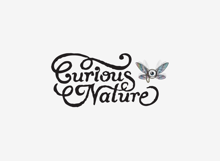 Curious Nature logo design