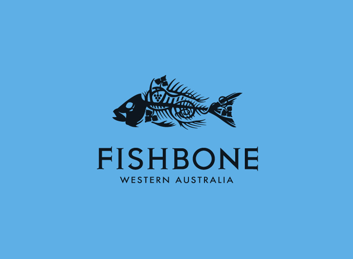 Fishbone logo design