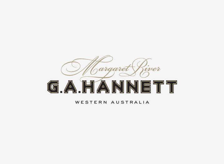 GA Hannett logo design