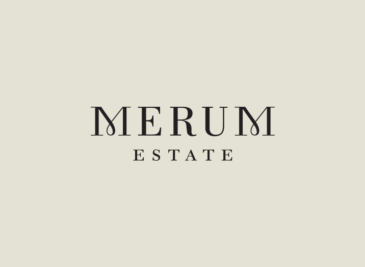 Merum Estate logo design