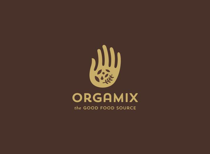 Orgamix logo design