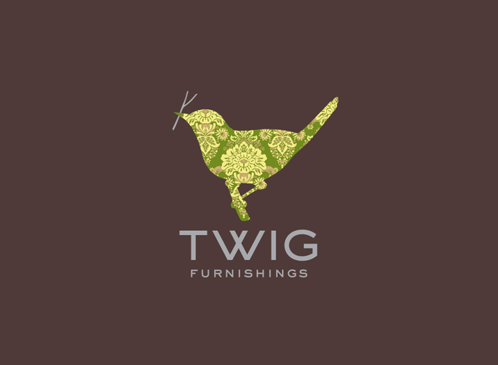 Twig Interiors logo design
