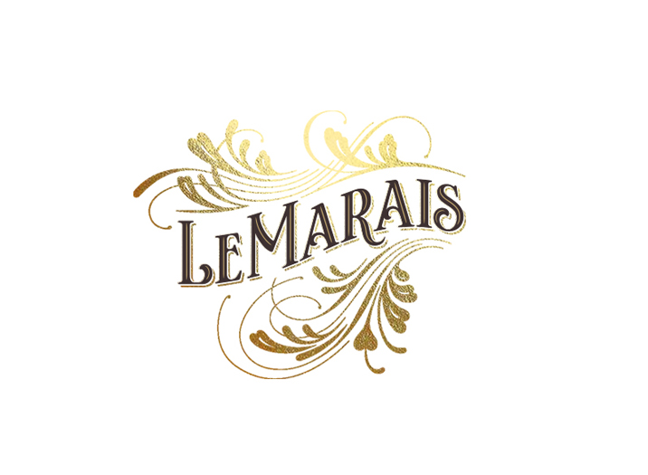 Le Marais logo design
