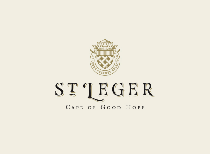 St Leger logo design