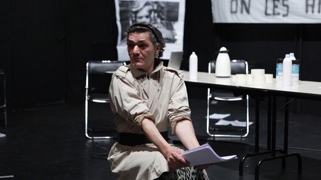 Nicolas Martel, Répétitions 2017 - CDN de Normandie | Photogramme : Natalie Beder