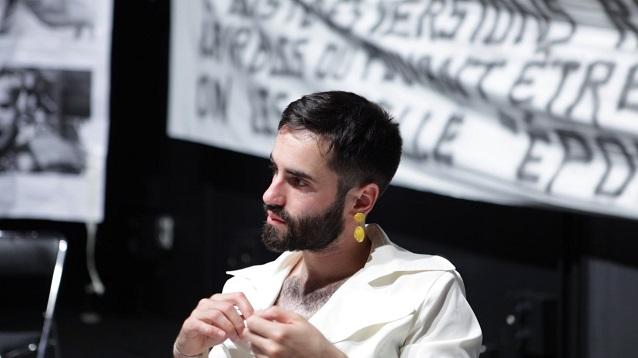 Bruno Coulon, Répétitions 2017 - CDN de Normandie | Photogramme : Natalie Beder
