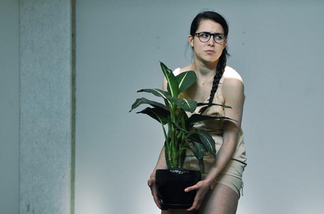 Jennifer Cabassu, Répétition 2013 - CINQ du Centquatre | Photo : Joris Mithalal