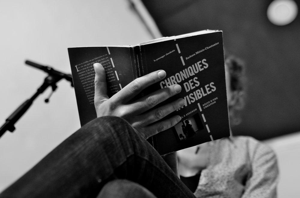 CHRONIQUES DES INVISIBLES (lecture)