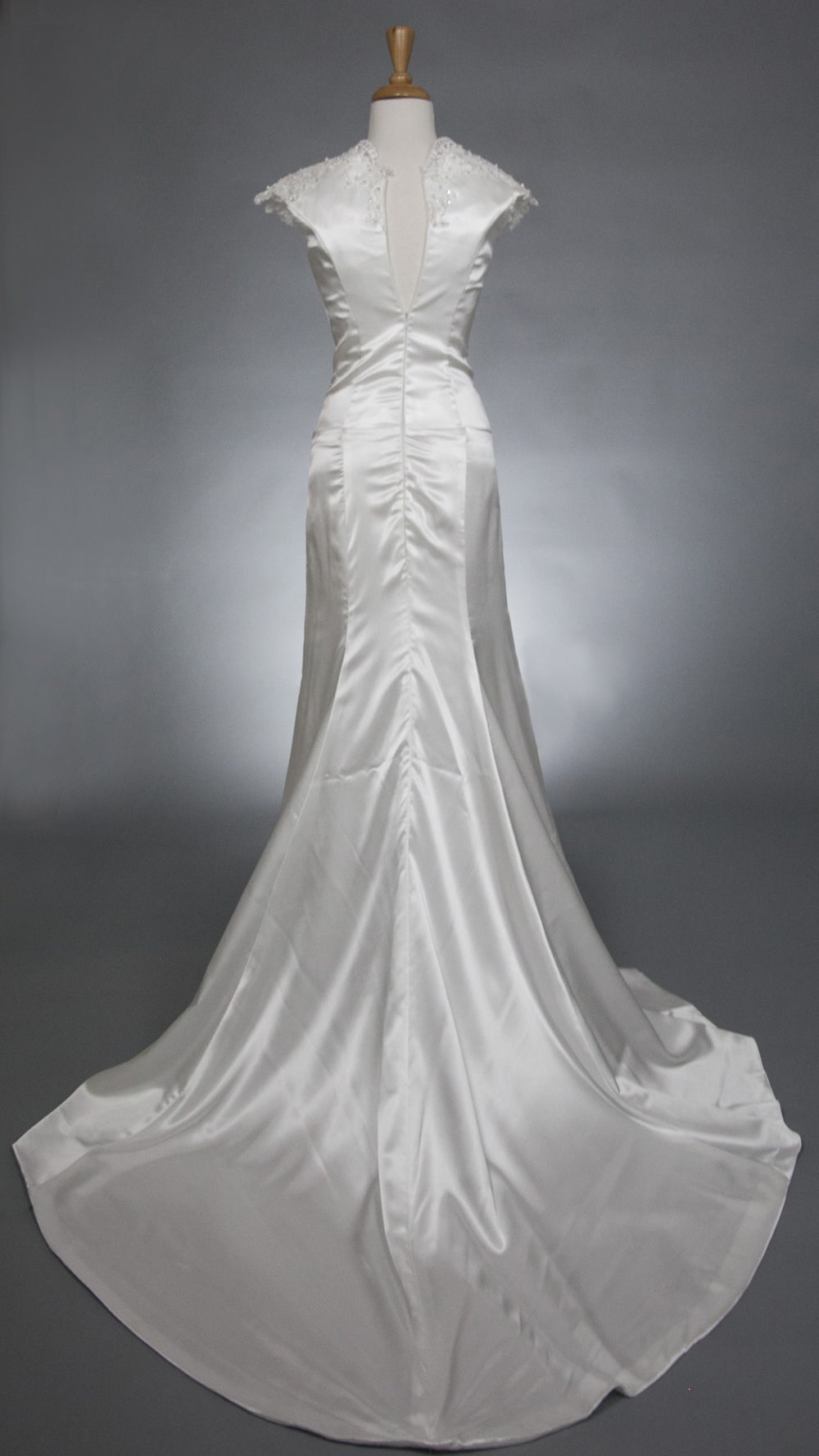 White Wedding Gown  $199.