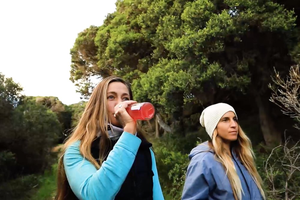 Hiking with Surf Meal  - Take a hike with Surf Meal.