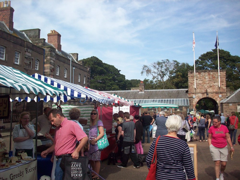 Berwick Food Festival by Derek Sharman