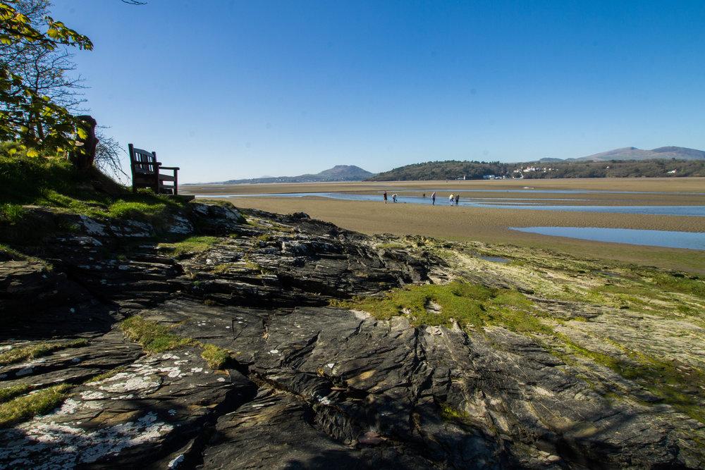 Visit Harlech for walks near Portmeirion