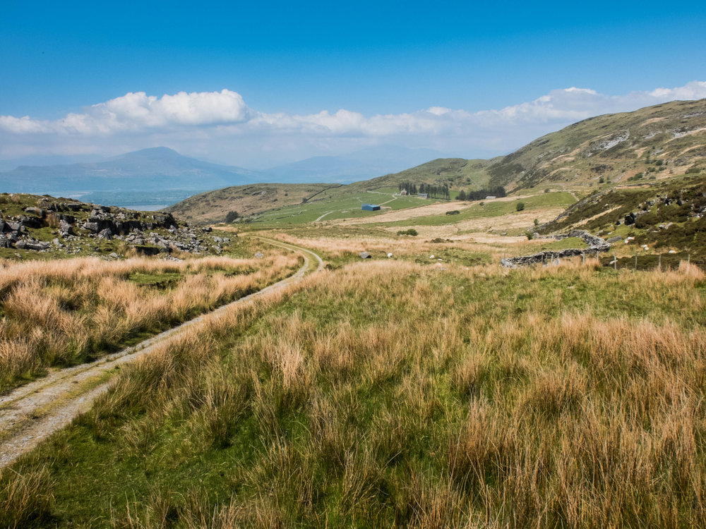 Ancient walk in North Wales