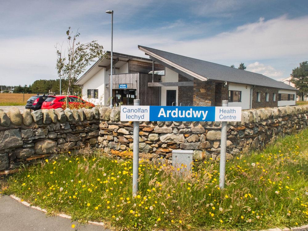 The Harlech Ardudwy health centre