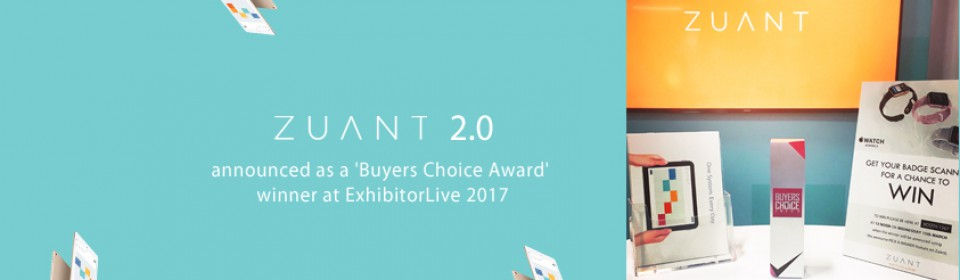 Zuant wins buyers choice award!