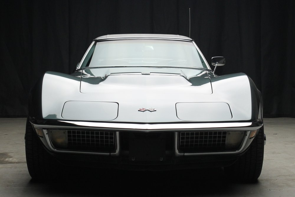 1970 Corvette Convertible 454 Laguna Grey