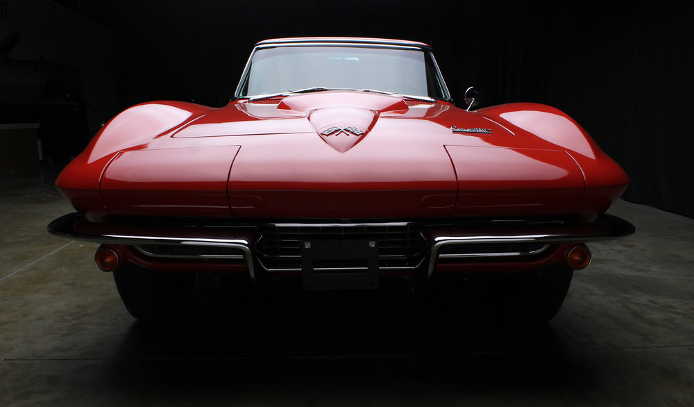 1966 Corvette Convertible 427/425 Bloomington Gold Certified